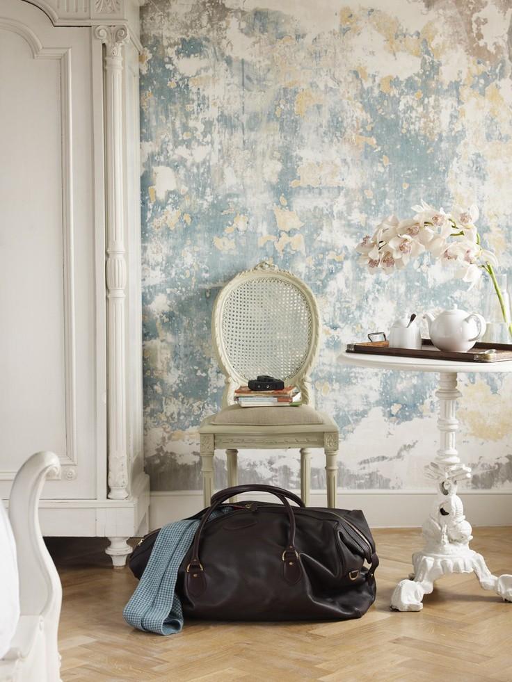 Papel de parede na decoração