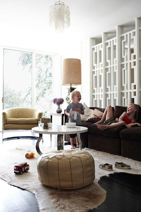 Mobiliário em couro na decoração