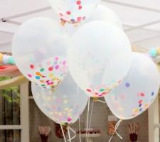 Balão colorido