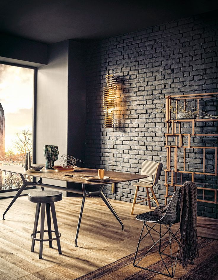 Atelier com decoração MID CENTURY MODERN