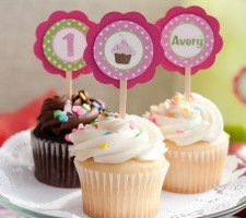 Cupcakes – Confete – Toppers