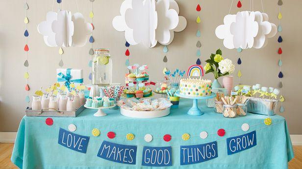 Ch de beb kit para imprimir e ideias para decorar - Organizar baby shower nino ...