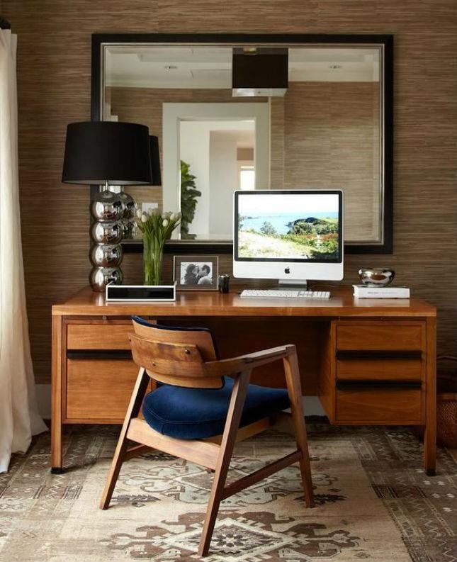 Mobiliário MID CENTURY MODERN no escritório