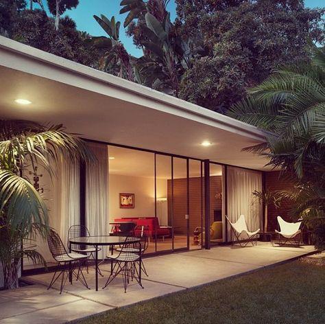 Arquitetura moderna e vintage